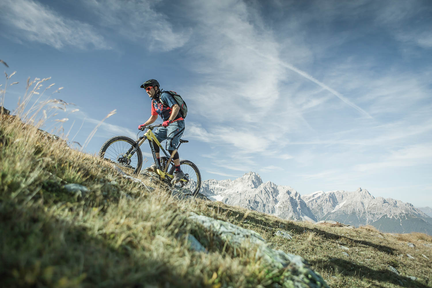 Mountainbike Dolomiten